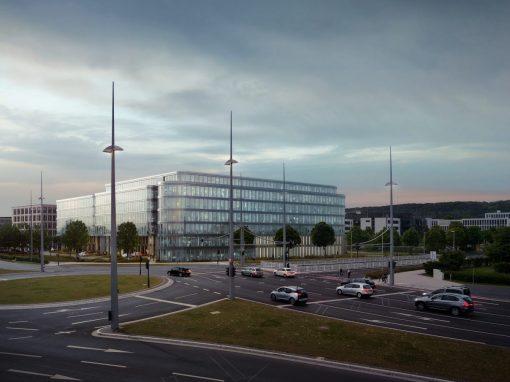 """Neubau Bürogebäude Bonn """"Gesellschaft für Internationale Zusammenarbeit GmbH"""" 2"""