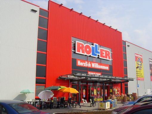 Neubau Fachmarktzentrum Kerpen