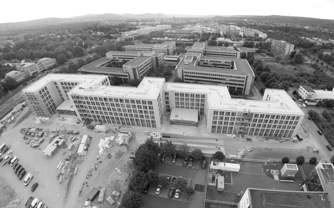 """Neubau Bürogebäude Bonn """"Gesellschaft für Internationale Zusammenarbeit GmbH"""""""