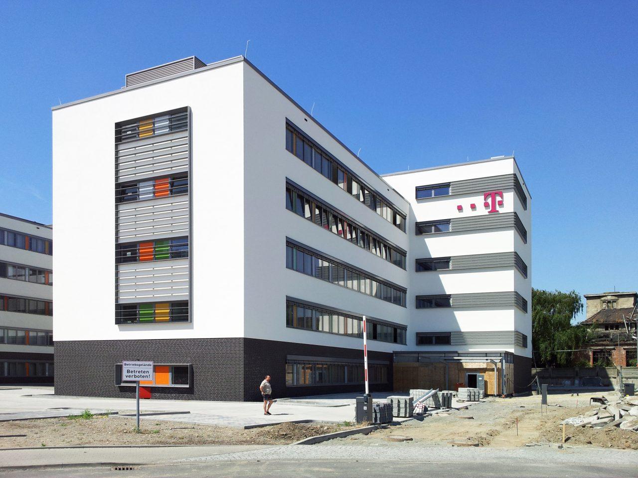 neubau telekom service center leipzig bauabschnitt 2. Black Bedroom Furniture Sets. Home Design Ideas