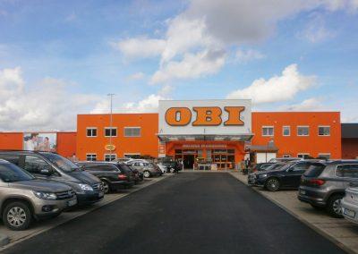 Neubau OBI Baumarkt in Barkhausen