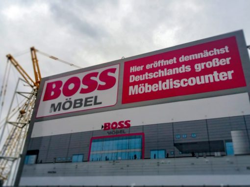 Neubau Möbelhaus mit Fachmärkten Bielefeld