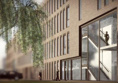 Mainz Neubau Bürohaus